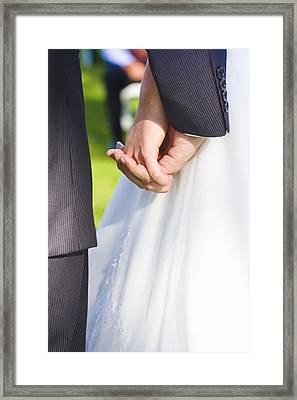 Tying The Knot Framed Print by Jorgo Photography - Wall Art Gallery