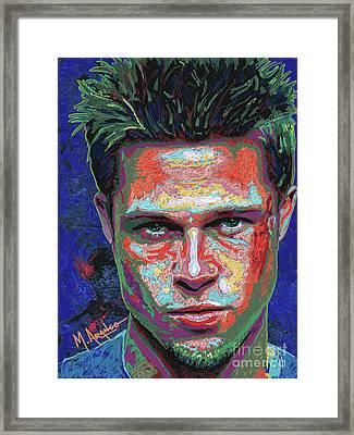 Tyler Durden Lives Framed Print