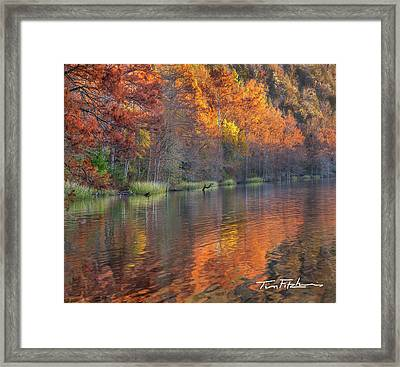 Tyler Lake Framed Print