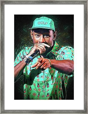 Tyler, The Creator Framed Print