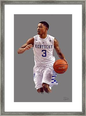 Tyler Ulis Framed Print by Charley Pallos