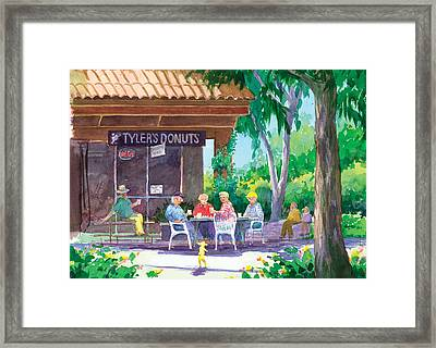 Tylers Donuts Framed Print by Ray Cole