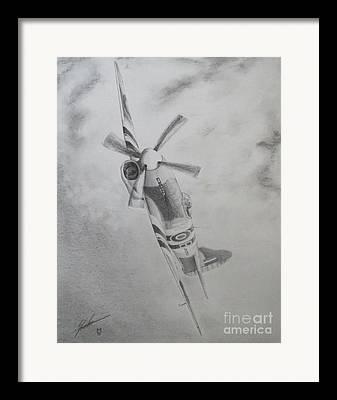 Ww11 Drawings Framed Prints