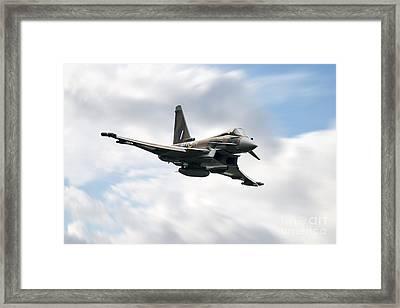 Typhoon War Paint  Framed Print