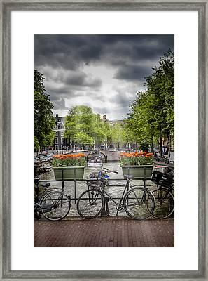 Typical Amsterdam Framed Print