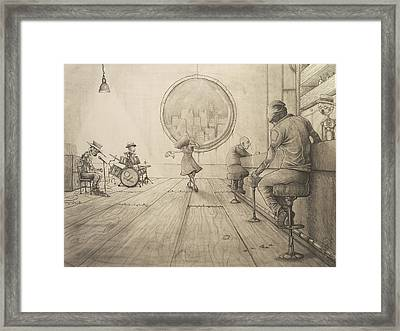 Typical Evening Framed Print by Chase Fleischman