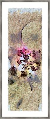 Typocosmy Layout  Id 16098-054729-96560 Framed Print by S Lurk