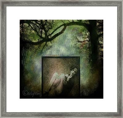 Framed Print featuring the digital art Tyranny Of Pretty by Delight Worthyn