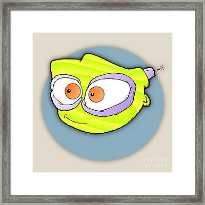 Tyro Framed Print by Uncle J's Monsters