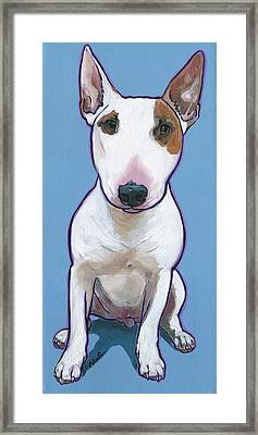 Framed Print featuring the painting Tyson by Nadi Spencer