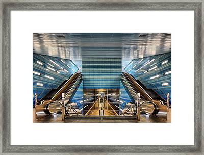 U 4 Framed Print by Martin Fleckenstein