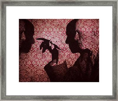 U N Me  Framed Print by Jerry Cordeiro