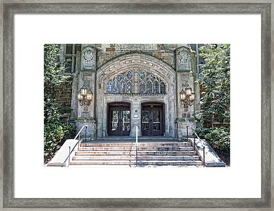 U Of M Law Libray Framed Print