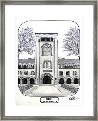 U S C Framed Print by Frederic Kohli