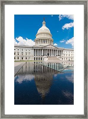 U S Capitol East Front Framed Print by Steve Gadomski