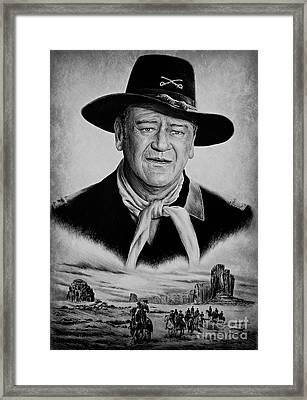 U S Cavalry Framed Print by Andrew Read