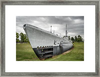 Framed Print featuring the photograph U. S. S. Batfish by James Barber