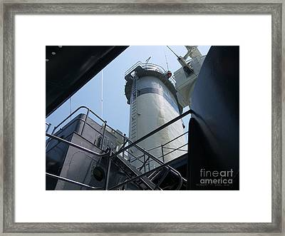 U S S   N C  Framed Print