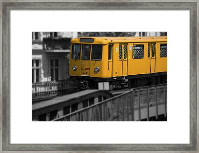 U Schlesisches Tor Framed Print by Nathan Wright
