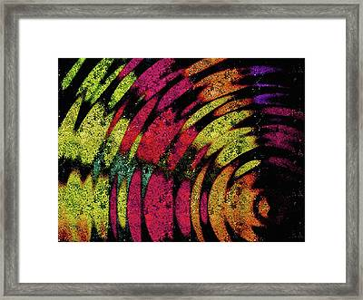 U Spin Me Right Round Framed Print by Susan Maxwell Schmidt