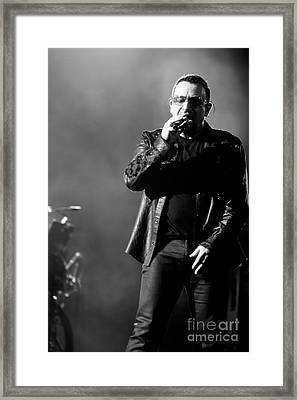 U2 By Jenny Potter Framed Print