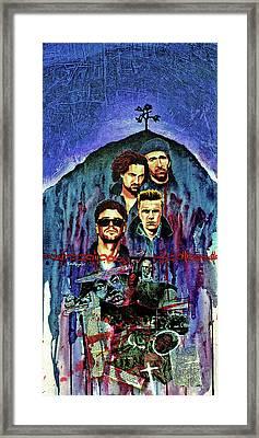 U2 Framed Print by Ken Meyer jr