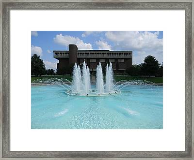 Ucf Reflection Pond Framed Print