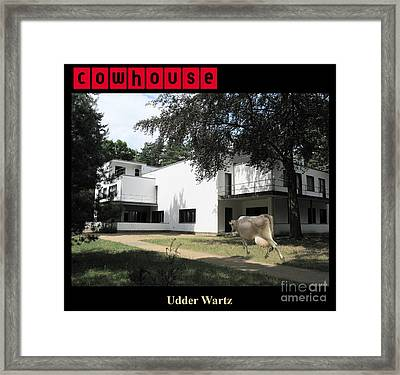 Udder Wartz No. I Framed Print by Geordie Gardiner