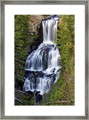 Udine Falls Framed Print by Marty Koch