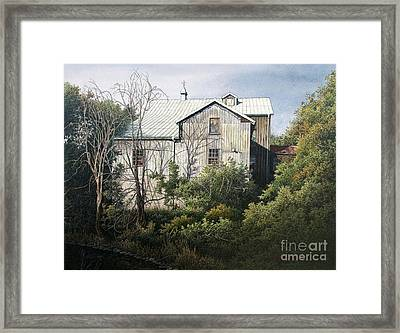 Udora Mill Framed Print