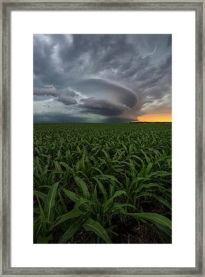 Framed Print featuring the photograph UFO by Aaron J Groen