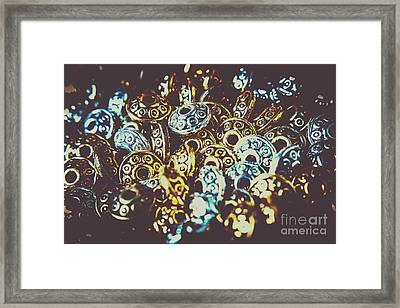 Ufo Flying Saucers Framed Print