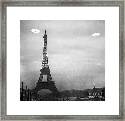 Ufo: Paris Framed Print by Granger