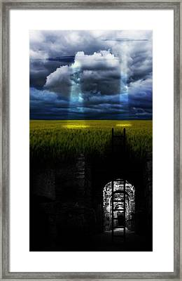 U.f.o Search Framed Print by FL collection