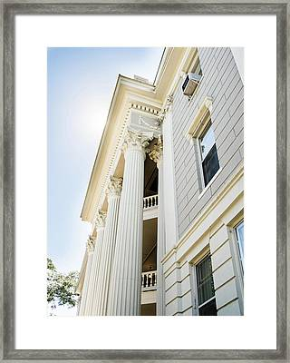 Framed Print featuring the photograph Uga Beauty by Parker Cunningham