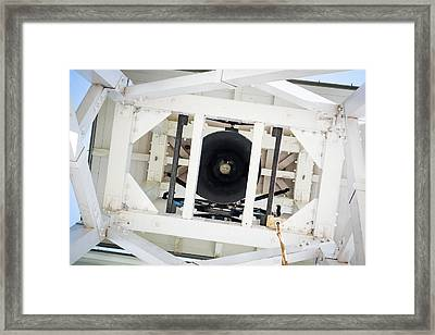 Framed Print featuring the photograph Uga Chapel Bell by Parker Cunningham