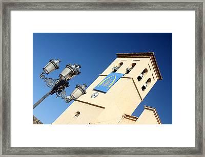 Ugijar Church 10 Framed Print by Jez C Self