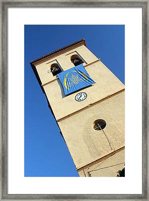 Ugijar Church 9 Framed Print by Jez C Self