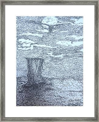 Ugly Framed Print