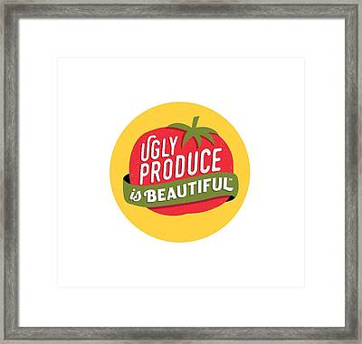 Ugly Produce Is Beautiful Framed Print