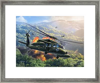 Uh-60 Blackhawk Framed Print