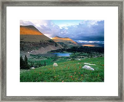 Uinta Wilderness Framed Print by Leland D Howard