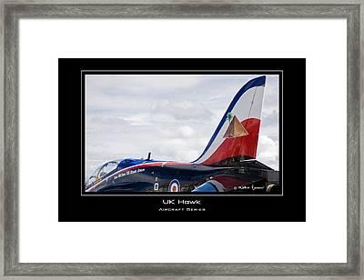 Uk Hawk Framed Print by Mathias Rousseau