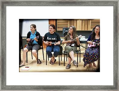 Ukelele Ensemble Framed Print