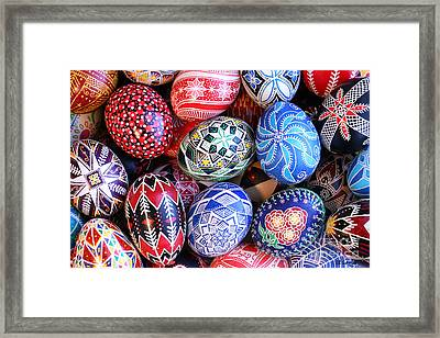 Ukrainian Easter Eggs Framed Print