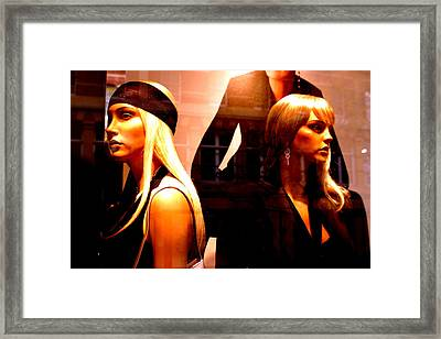 Ulga And The Young Liz Framed Print by Jez C Self