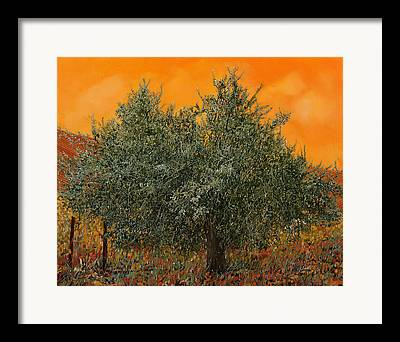 Warm Summer Paintings Framed Prints