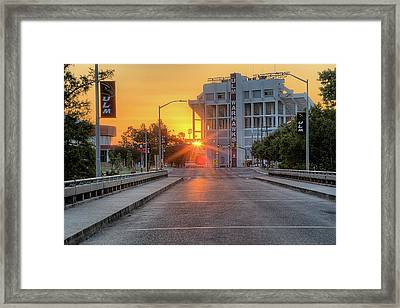 Ulm Malone Stadium Framed Print by JC Findley