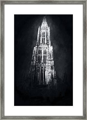 Ulmer Muenster L Framed Print
