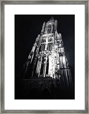 Ulmer Muenster 2 Framed Print by Christian Klute
